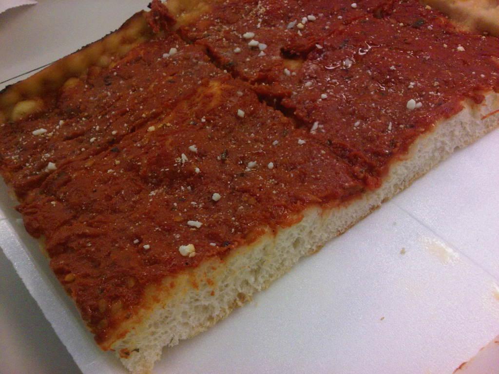 Understanding Philadelphia Style Tomato Pie Eat Drink Run Philly