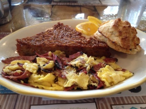 Scrambled Eggs with Pastrami
