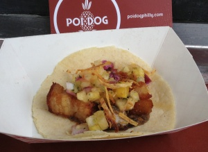 Poi Dog Pork Adobo Taco