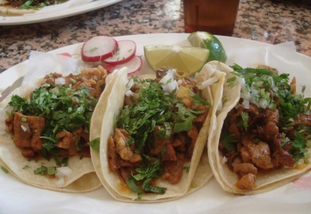 El Jarocho al pastor tacos
