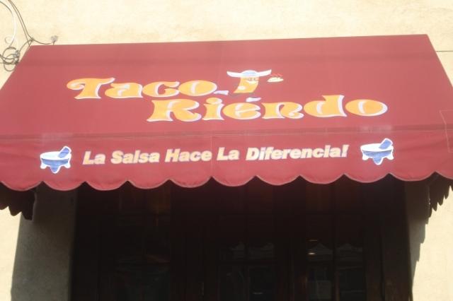 Taco Riendo